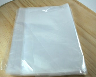 "100 9"" x 12"" 2 Mil Poly Bags - Plastic Bags for storage packaging"