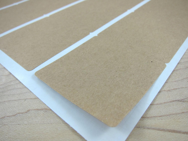 2 inch square brown kraft labels 2x2 blank kraft. Black Bedroom Furniture Sets. Home Design Ideas