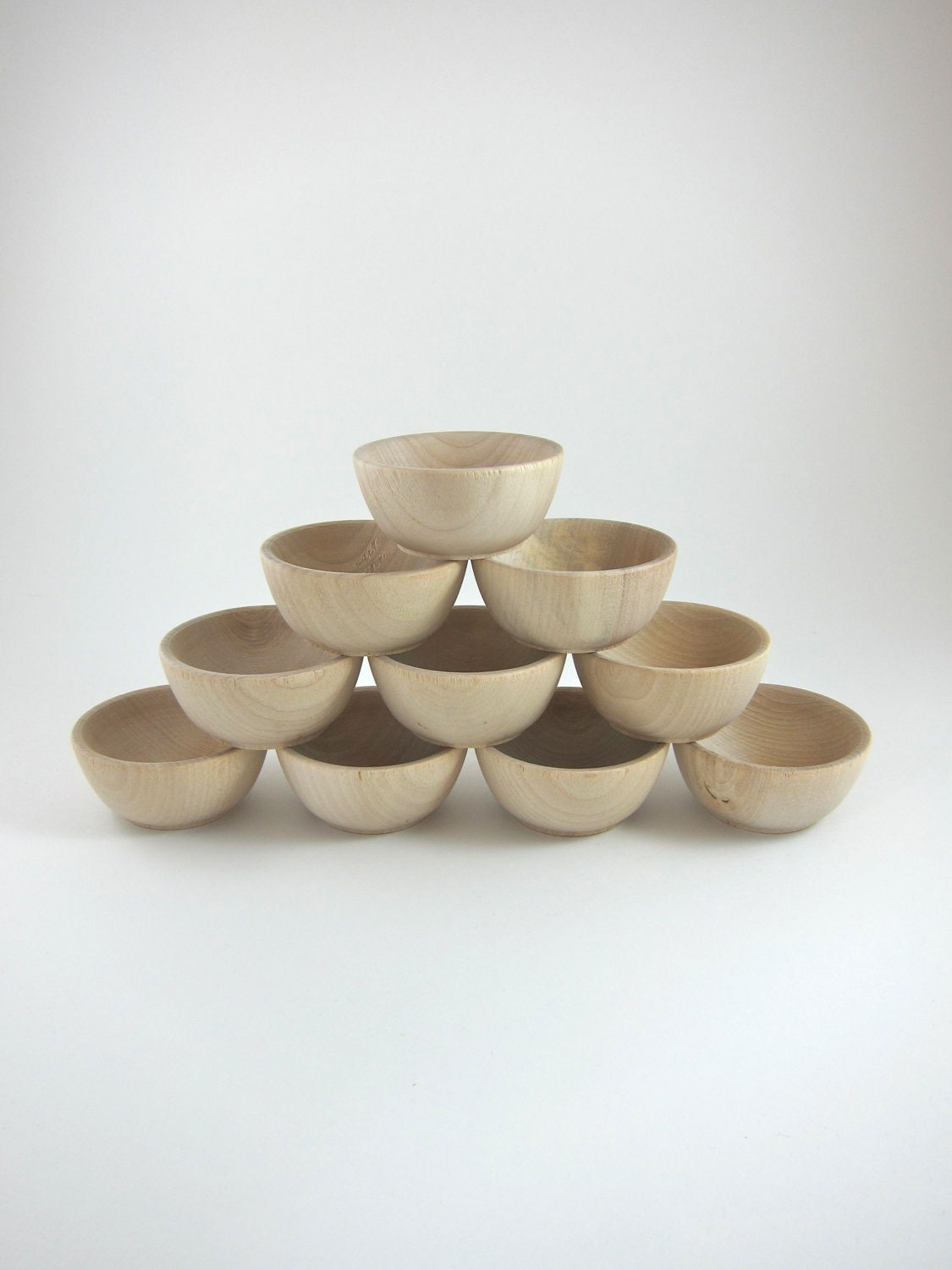 Unfinished wood craft products -  Zoom