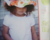Girls Sun Hat by Izy & Ivy designs sizes teeny tiny to large