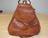 """Vintage leather Original Ghurka backpack bag """"Ashley"""" No. 42. Designed by Marley Hodgson."""