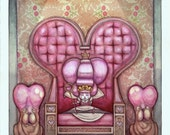 Valentine's Day Card: Queen of Hearts