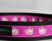 "1.5"" Oink Oink Collar"