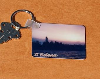 St Helena Lighthouse Keytag