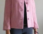 JACKIE O Pink Retro SWING Jacket