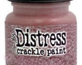 SALE Aged Mahogany Red Distress Crackle Paint Tim Holtz Ranger