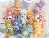 50% OFF Sale! Mini Care Bears Amigurumi Pattern: INSTANT DOWNLOAD