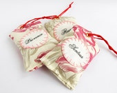 French Country Home Farmhouse Lavender Sachet French toile French word