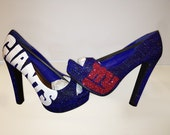 New York Giants Champions - Hand Painted Sports Pumps