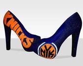 New York Knicks Sports Stilettos