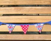 Mini British Flag Bunting