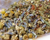 1 oz of Sweet Dreams loose leaf tea - Organic - Caffeine Free - Dryad Tea