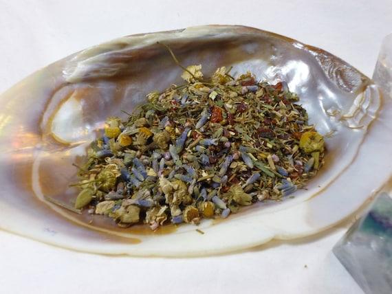 Tea Sample - Sweet Dreams loose leaf tea - Organic - Caffeine Free - Dryad Tea - Faerie