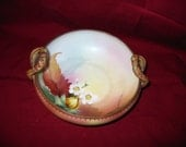 Nippon Hand-Painted Bowl, made between 1911 and 1920 beautiful autum colors.