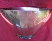 Retro stainless steel bowl