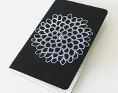 Hand Painted Flower Pocket Notebook