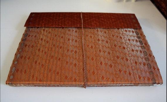 Large Exclusive Handmade Silk Sari Cover Photo Album/ Guest Book in rich brocade - Unique Wedding, Gift, Treasured Moments
