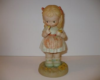 "He Loves Me, A 9"" Memories of Yesterday Figurine (No 525022) (Retired)"