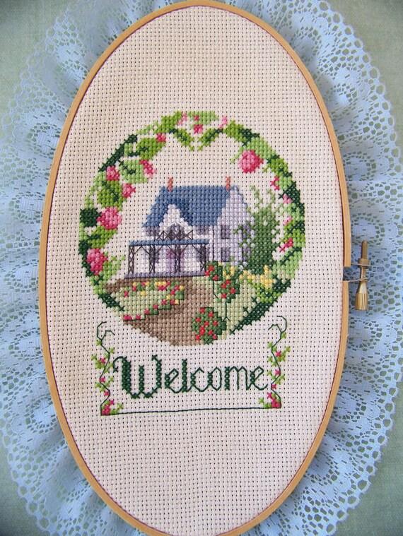 Welcome-Needlepoint