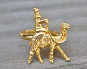 Gold Camel Ring