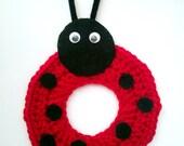 PDF Crochet Ladybug Camera/Lens Buddy Pattern - Photography Prop
