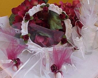 CROCHET PATTERN Flower Girl Headpiece WEDDING Bridal