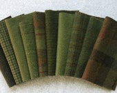 Mary Flanagan Textured Felted Wool Bundles: Pine Forest