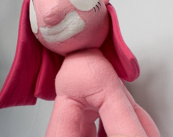 Pinkamina Diane Pie, Made-To-Order, Plush, MLP, FiM, Soft, Fleece, Cute