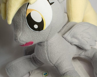 Derpy Hooves, Made-To-Order, Plush, MLP, FiM, Soft, Fleece, Cute