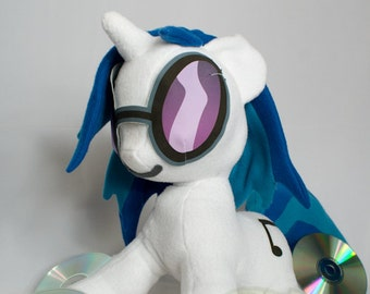 Vinyl Scratch, DJ Pon3, Made-To-Order, Plush, MLP, FiM, Soft, Fleece, Cute