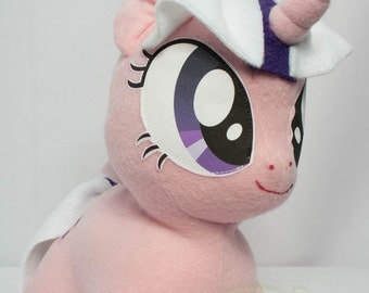 CHIBI Twilight MLP Hand-Made Custom Craft Plush