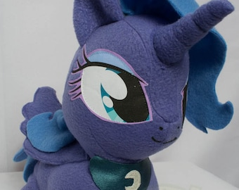 CHIBI Princess Luna MLP Hand-Made Custom Craft Plush