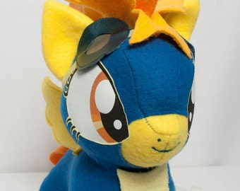 CHIBI Spitfire MLP Hand-Made Custom Craft Plush
