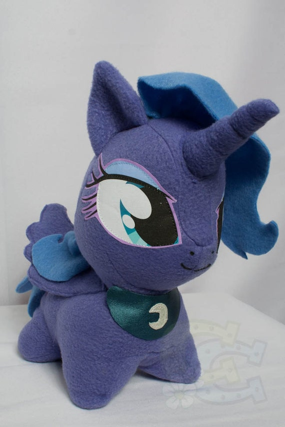 CHIBI Princess Luna MLP Hand-Made Custom Craft Plush
