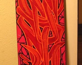 Cobwebs - Graffiti Wall Art Skateboard Deck