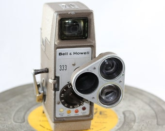Collectible Bell & Howell Vintage 8mm Movie Camera
