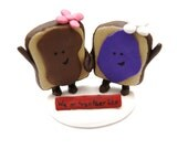 We go together like...Peanut Butter and Grape Jelly (Female-Female) - customized for Angel