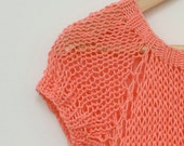 Hand Knit Spring Summer Women Sweater