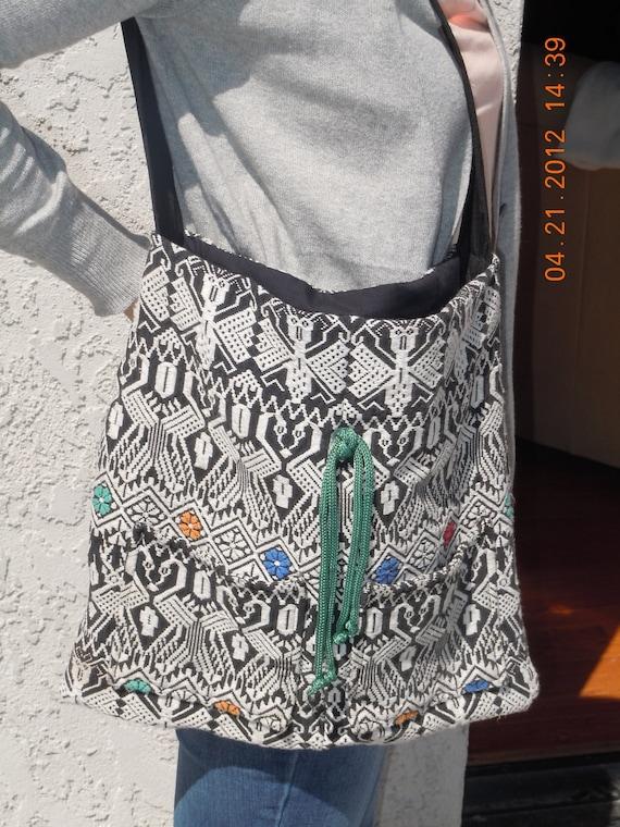 OOAK Designer BoHo Hippie Messenger Style SCHOOL Bag or PURSE