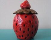 Strawberry Sugar/Jam Bowl