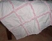 New baby rag quilt