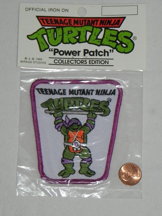 Vintage Teenage Mutant Ninja Turtles DONATELLO PATCH from the 80's.