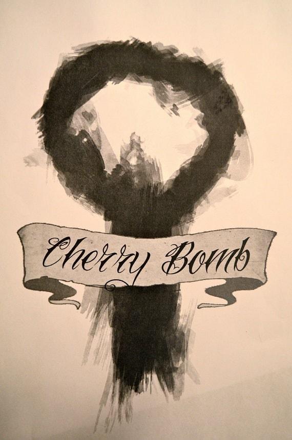 Cherry Bomb Zine - A Riot Grrrl Submissions Based Zine