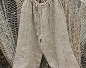 Linen pants capri for men