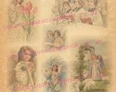 Angel Paper - in vintage style