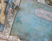 Wedding Guest book  - From our Vintage Butterfly Range CUSTOM