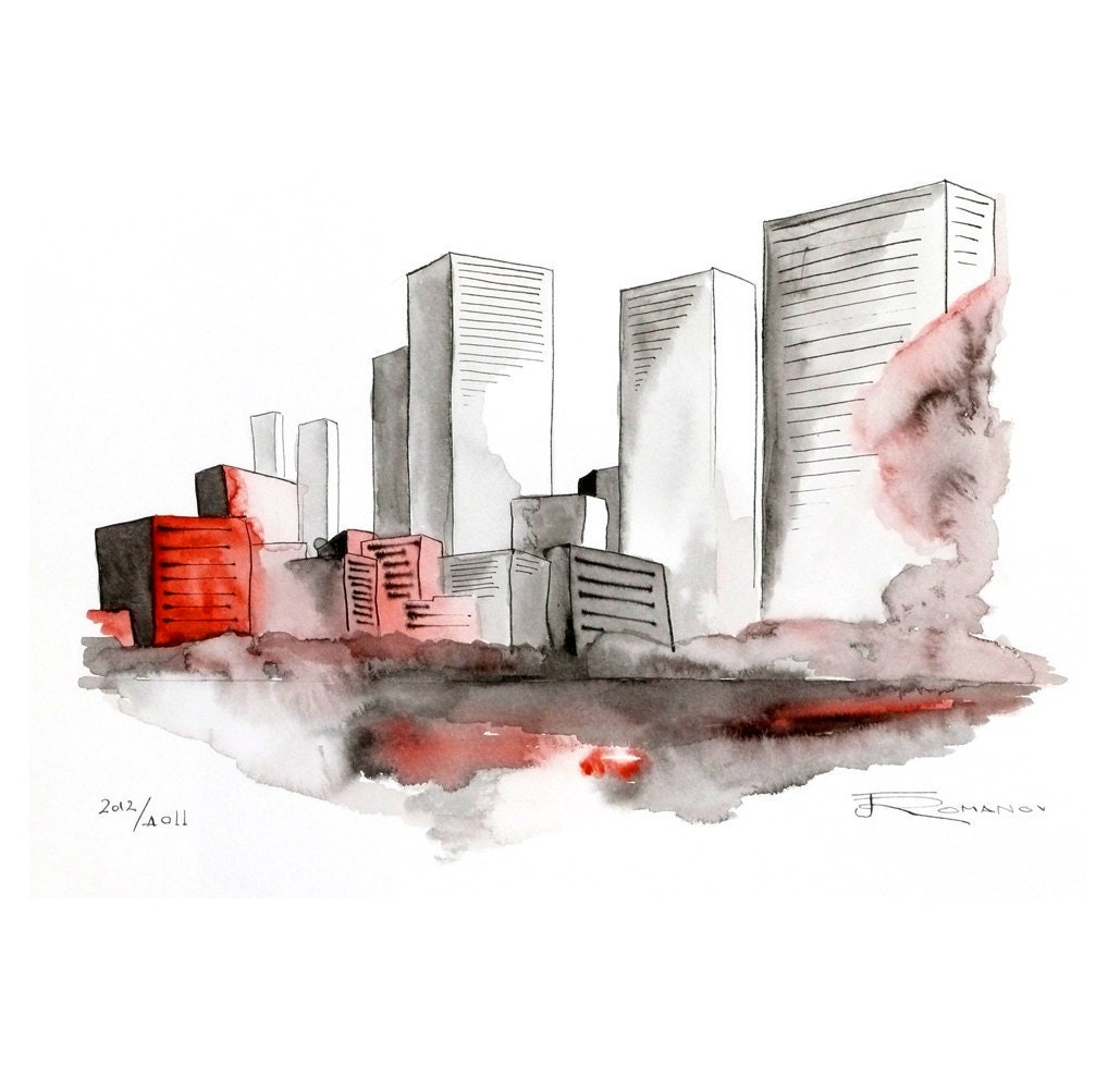 Watercolor New York: 301 Moved Permanently