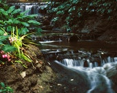 Fine Art Photography - Two Waterfalls Scenic Nature Photograph