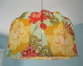 Lampshade, Pendant lamp Flower power, Retro Style