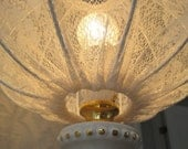 Lace Lampshade in shabby chic Style